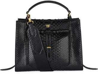 Tom Ford Small Python Top Handle Bag