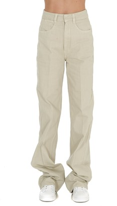 Lemaire High Waist Straight Leg Jeans