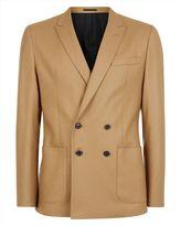 Wool Camel Slim Jacket