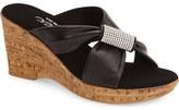 Onex 'Starr' Wedge Sandal (Women)
