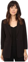 Kensie Stretch Crepe Longer Blazer KS8K2S44