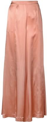 L'Autre Chose Silk Pallazo Pants