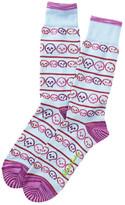 Robert Graham Fabrizio Crew Socks
