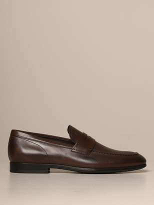 Tod's Tods Loafers Tods Moccasin In Leather With Rubber Sole