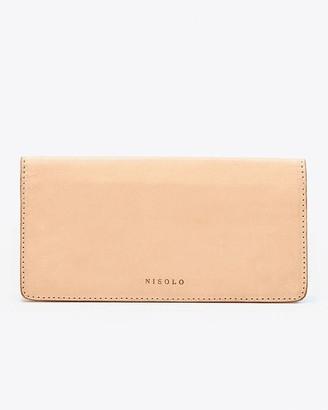 Nisolo Classic Wallet Natural Vachetta