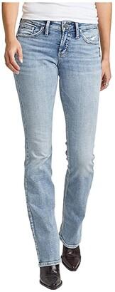 Silver Jeans Co. Suki Mid-Rise Curvy Fit Slim Bootcut Jeans L93606SSX152 (Indigo) Women's Jeans