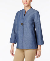 JM Collection Single-Button Jacket, Only at Macy's