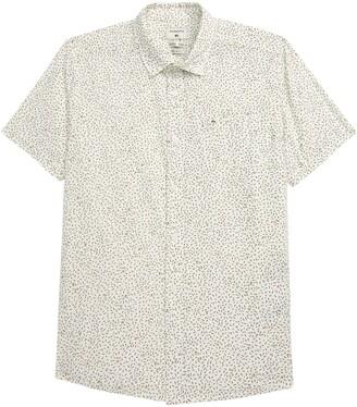 Quiksilver Spilled Rice Short Sleeve Button-Up Shirt
