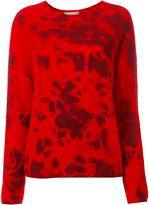 Suzusan - tie dye style knit top - women - Cashmere - M