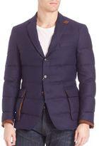 Ralph Lauren Purple Label Quilted Blazer