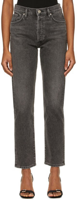 Gold Sign Grey The Benefit Jeans