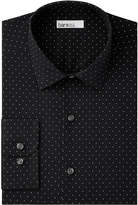 Bar III Men's Slim-Fit Stretch Easy Care Polka Dot Print Dress Shirt, Created for Macy's
