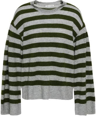 Rebecca Minkoff Striped Cashmere Sweater
