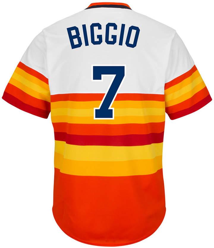 Majestic Men Craig Biggio Houston Astros Cooperstown Replica Jersey