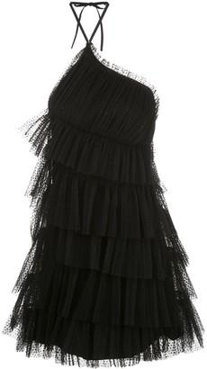 Alexis Raina ruffled-tulle mini dress