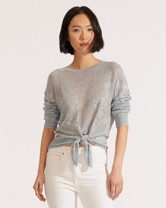 Veronica Beard Elina Crew-Neck Sweater