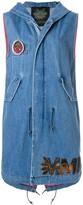 Mr & Mrs Italy sleeveless denim vest