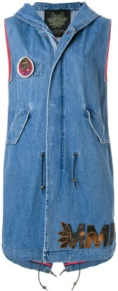 Mr & Mrs Italy Sleeveless Denim Vest