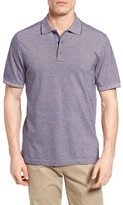 Nordstrom Men's Big & Tall 'Classic' Regular Fit Oxford Pique Polo