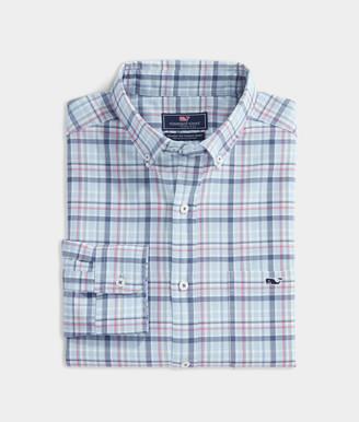 Vineyard Vines Classic Fit Tidal Twill Tucker Shirt