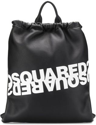 DSQUARED2 Logo Print Backpack
