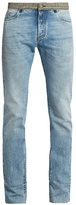 Maison Margiela Re-Edition contrasting-waist straight-leg jeans