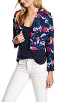 Wolfwhistle Wolf and Whistle Women's Hummingbird And Rose Long Sleeve Jacket,6