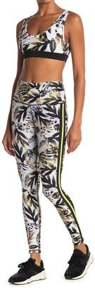 Wear It To Heart Leaf Print High Waist Leggings