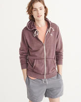 Abercrombie & Fitch Full-Zip Icon Hoodie
