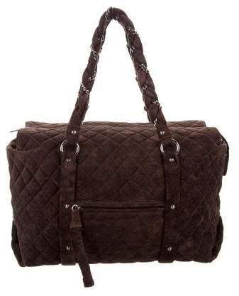 Chanel Quilted Lady Braid Tote