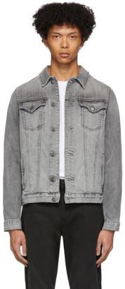 Frame Grey Denim LHomme Jacket