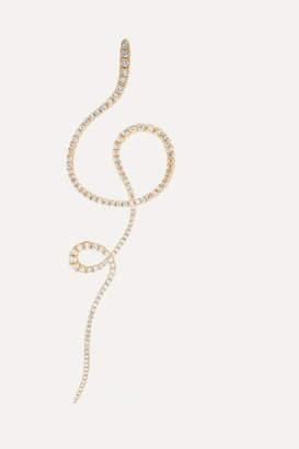 OLE LYNGGAARD COPENHAGEN Love Band 18-karat Gold Diamond Earring