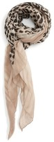 Women's Accessory Collective Leopard Print Scarf
