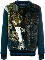 Dolce & Gabbana royal wolf print sweatshirt