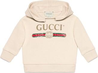 Gucci Baby sweatshirt with logo