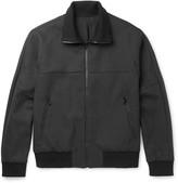 Solid Homme - Wool-blend Bomber Jacket