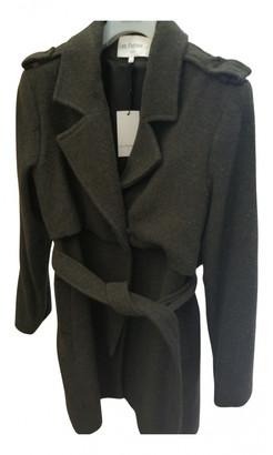 Les Petites Khaki Wool Coats