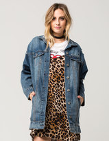 HIGHWAY Oversized Womens Denim Jacket