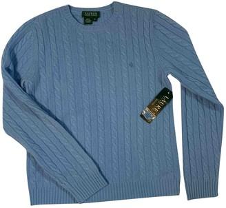 Lauren Ralph Lauren Blue Cashmere Knitwear for Women