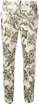 Christian Pellizzari printed cigarette trousers