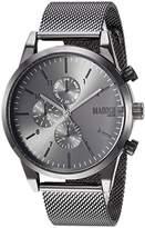 Steve Madden Men's Quartz Stainless Steel and Alloy Dress Watch