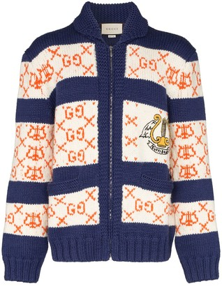 Gucci GG striped cardigan