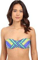Trina Turk Women's Shangri La Bandeau Bikini Top