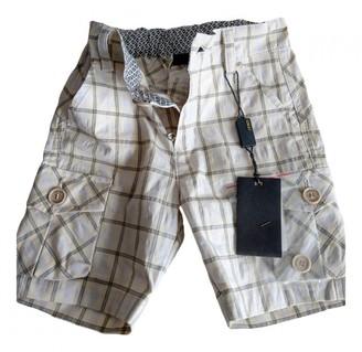 Fendi Beige Cotton Shorts