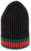 Gucci Wool Web Hat