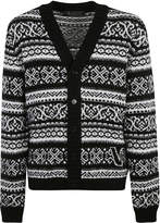 Versace Buttoned Cardigan