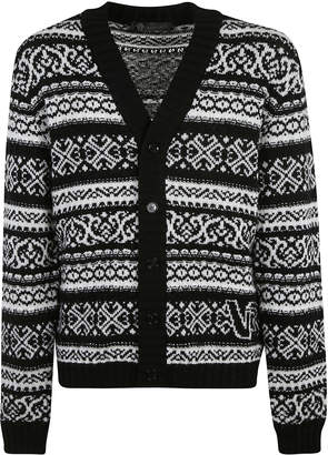 Versace Buttoned Cardigan