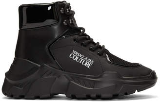 Versace Black Speed Chunky Sneakers