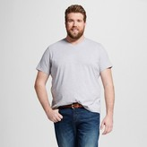 Mossimo Men's Big & Tall V-Neck T-Shirt Gray