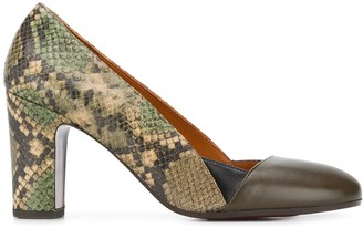 Chie Mihara Wantil panelled pumps